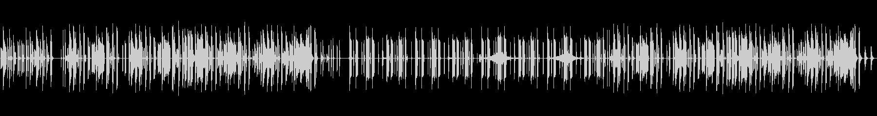 日常系のBGMに使えそうな曲の未再生の波形