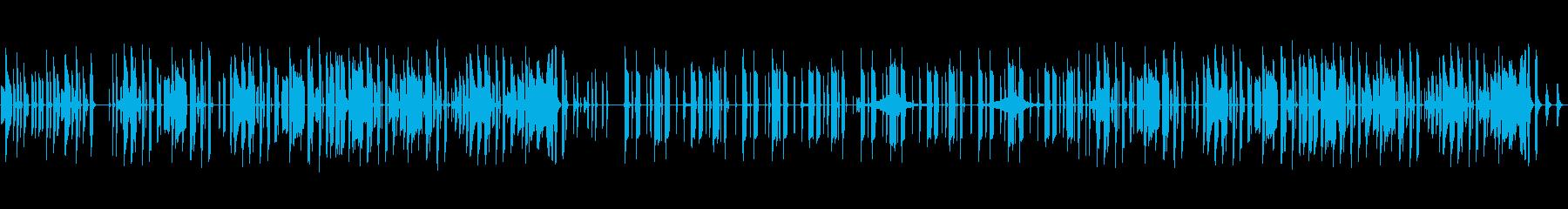 日常系のBGMに使えそうな曲の再生済みの波形