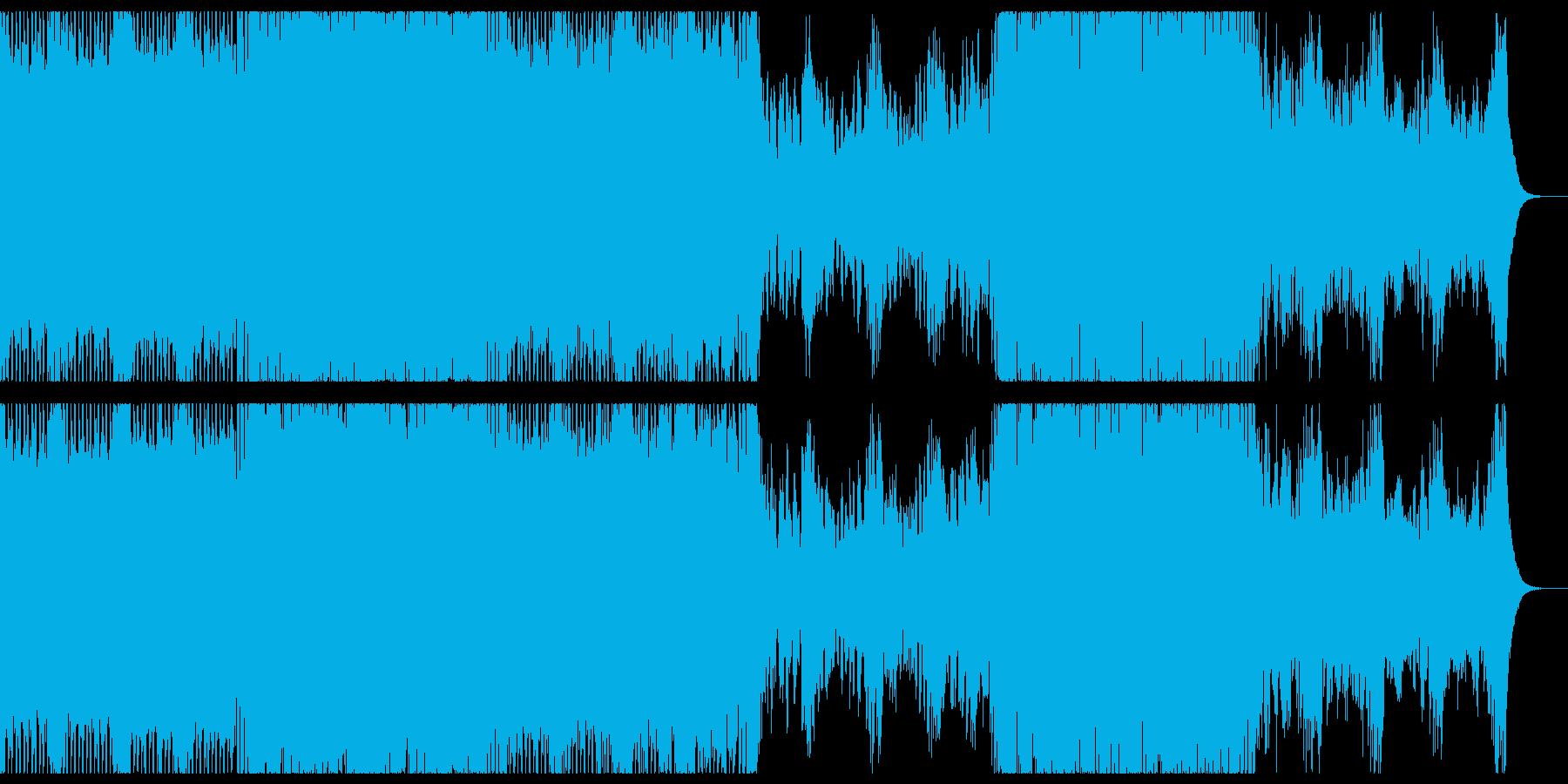 穏やかで切ないメロディックトランス。の再生済みの波形