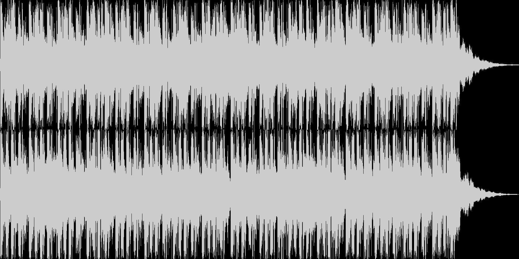 クラビがファンキーなソウルポップスの未再生の波形