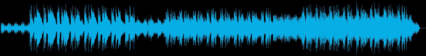 繰り返されるメロディーが哀愁漂う楽曲の再生済みの波形