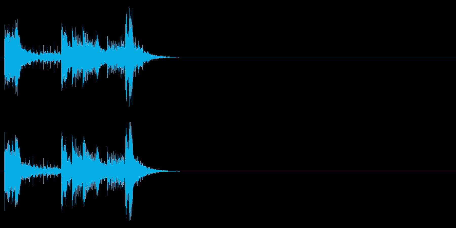 ジングル(フュージョン・タイプ)の再生済みの波形