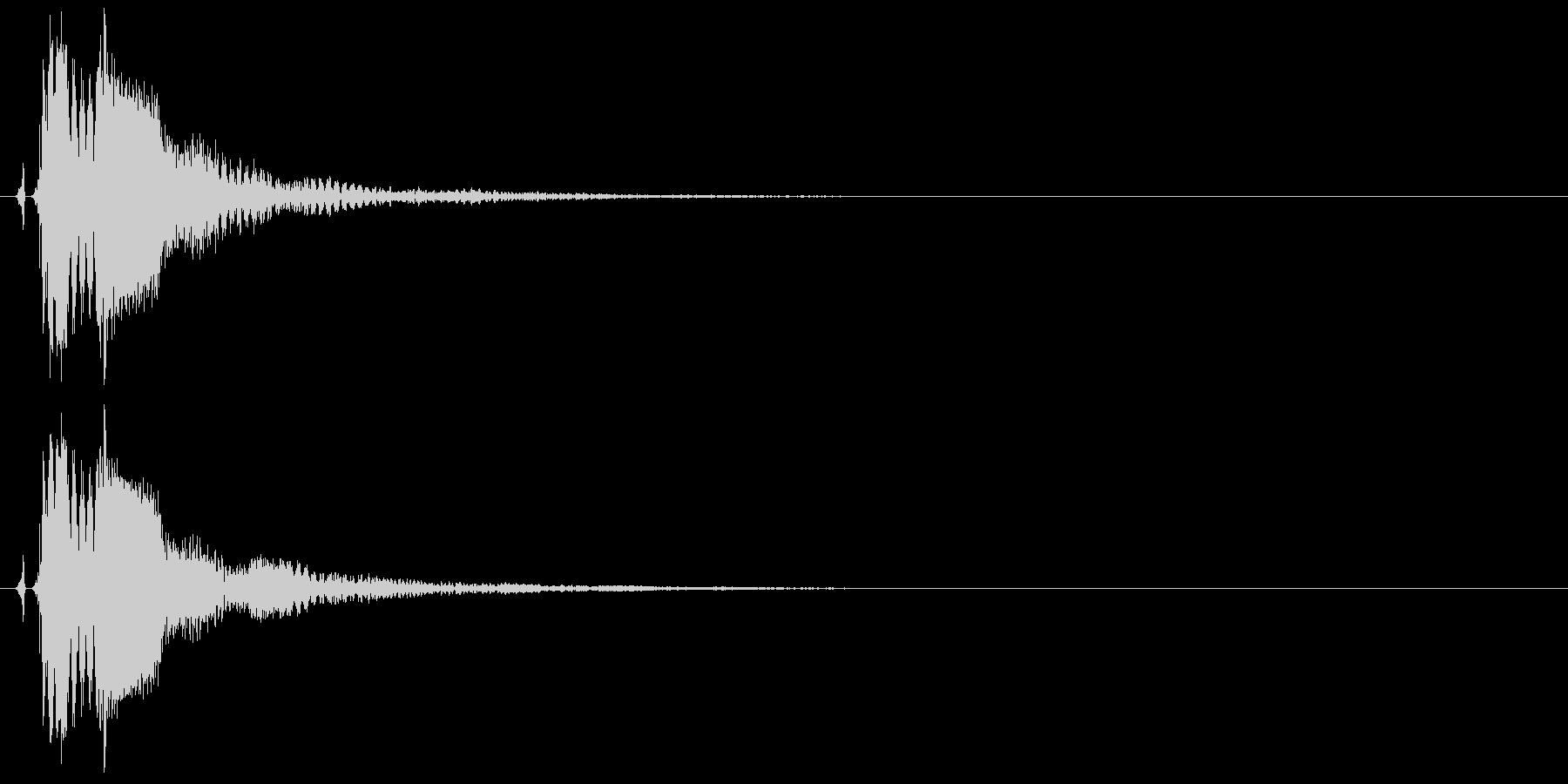 タッチ決定クリックボタン音に最適!16の未再生の波形