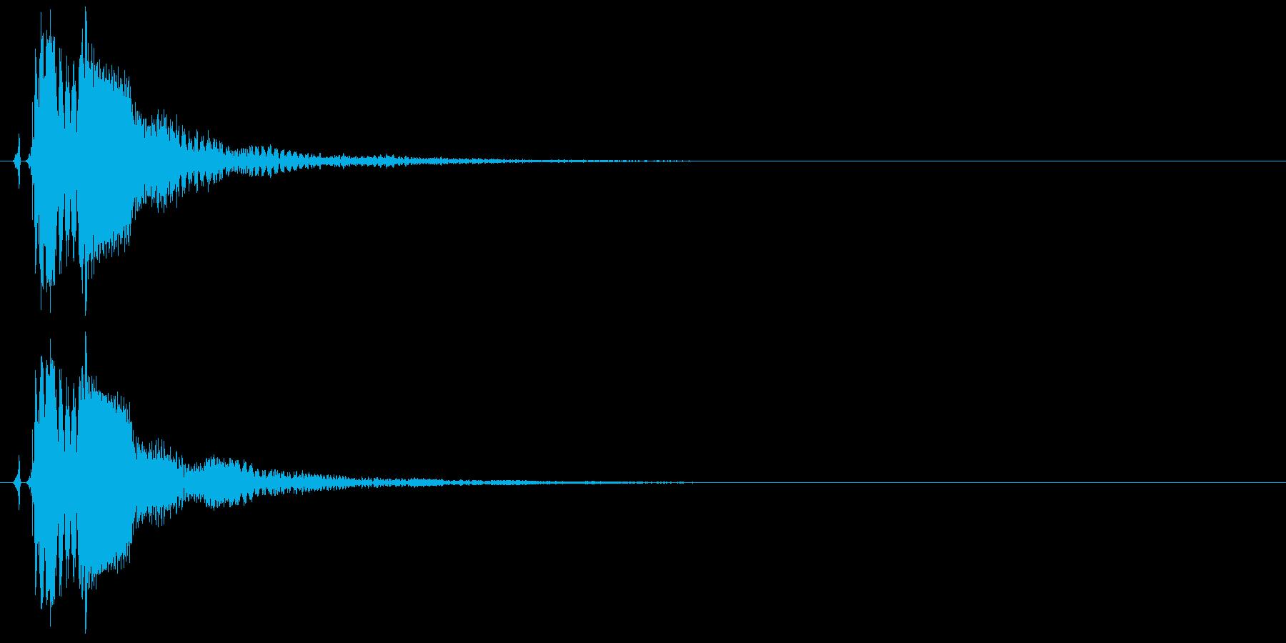 タッチ決定クリックボタン音に最適!16の再生済みの波形