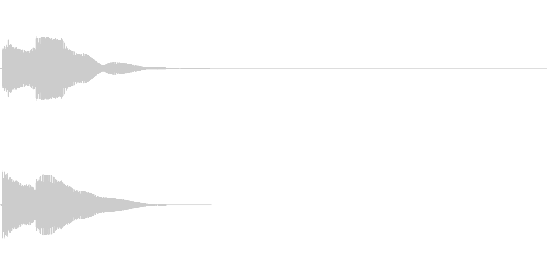 【システム音セット03-ポップアップ】の未再生の波形