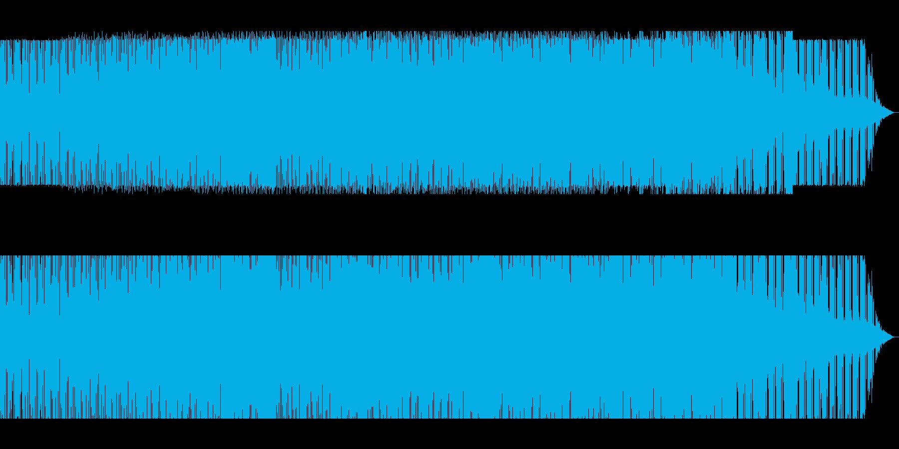 疾走感のある爽やか感動系ラテンビートの再生済みの波形