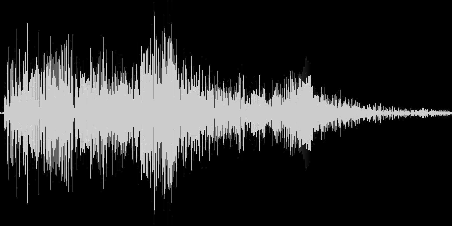 選択音 Slotイメージの未再生の波形