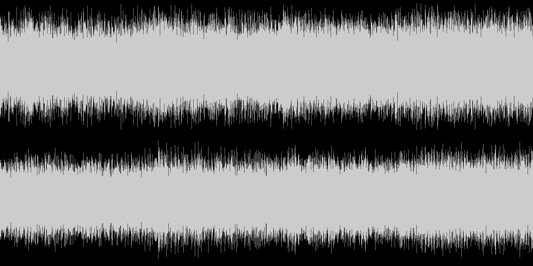 メニュー画面・汎用ループシンセの未再生の波形