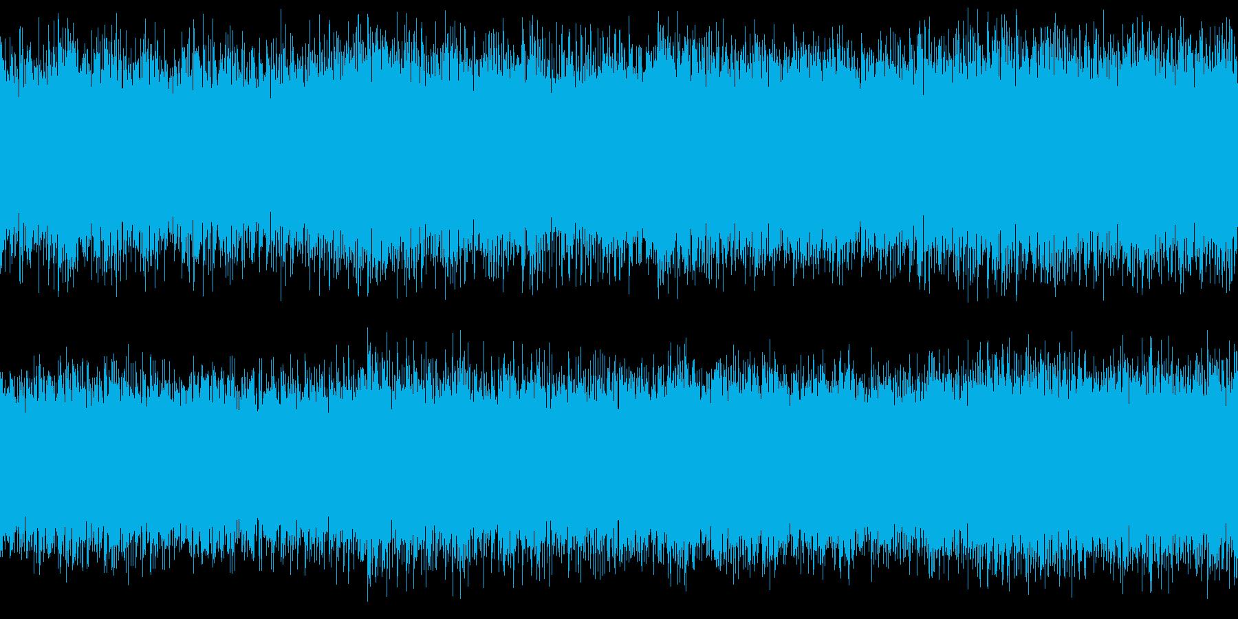 メニュー画面・汎用ループシンセの再生済みの波形