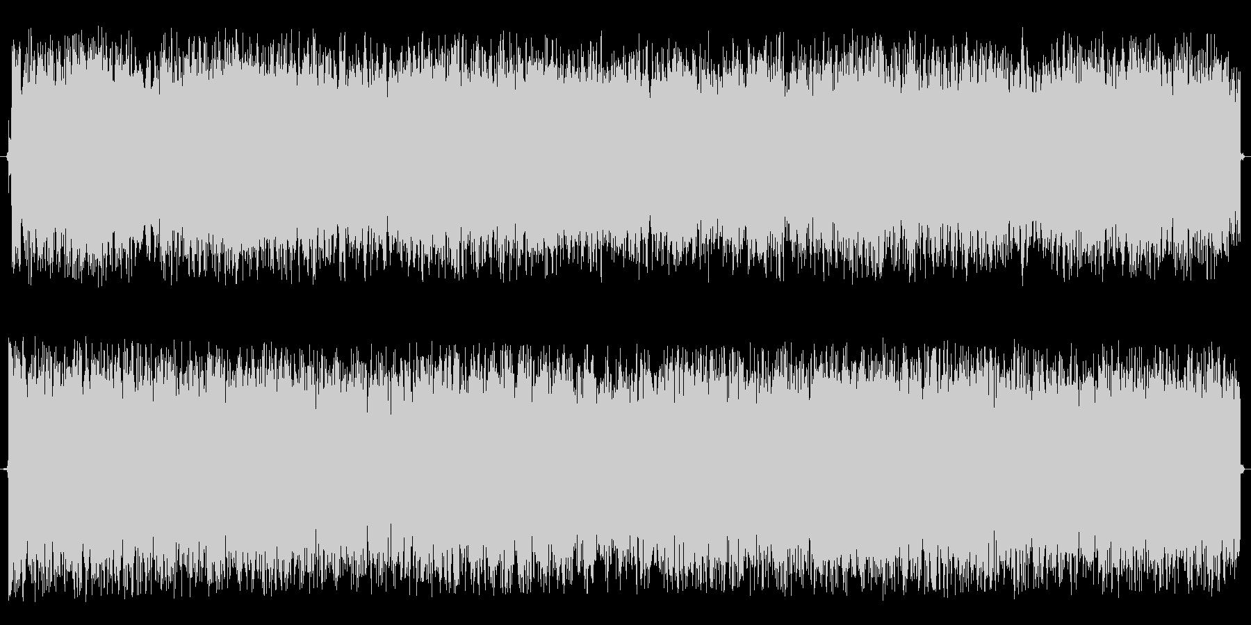 神秘的な効果音の未再生の波形