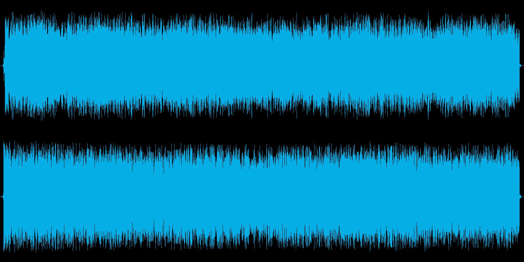 神秘的な効果音の再生済みの波形