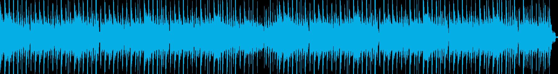 待機画面のBGMの再生済みの波形