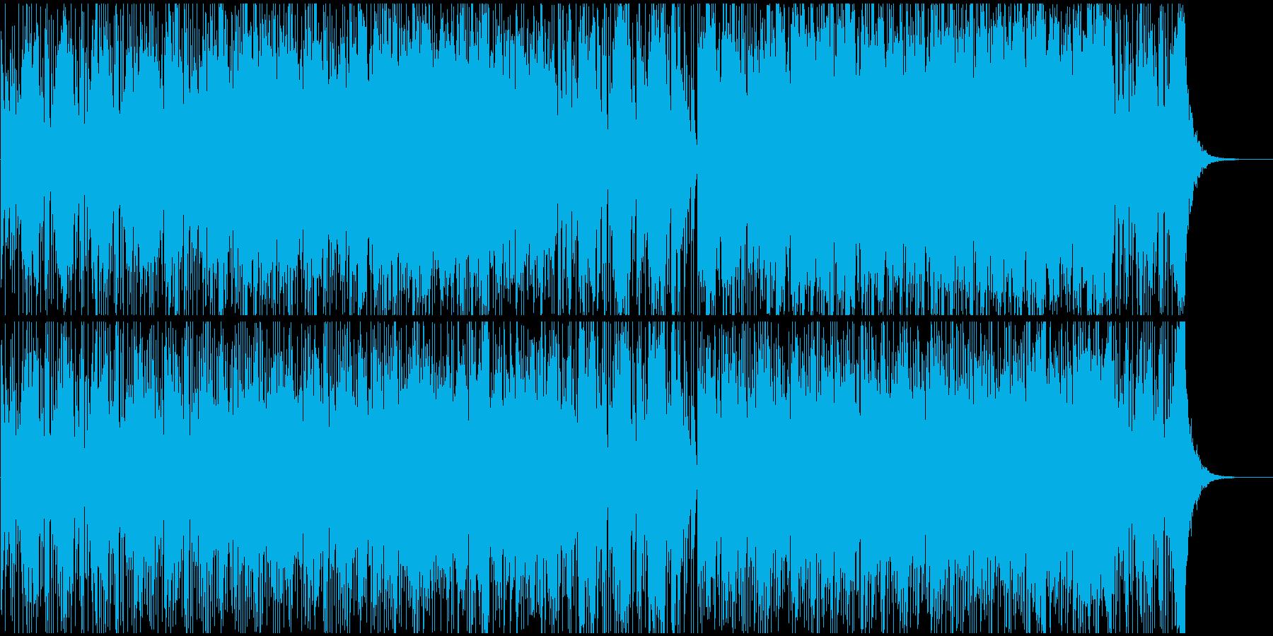 映像BGM優雅なクラシックとポップの融合の再生済みの波形
