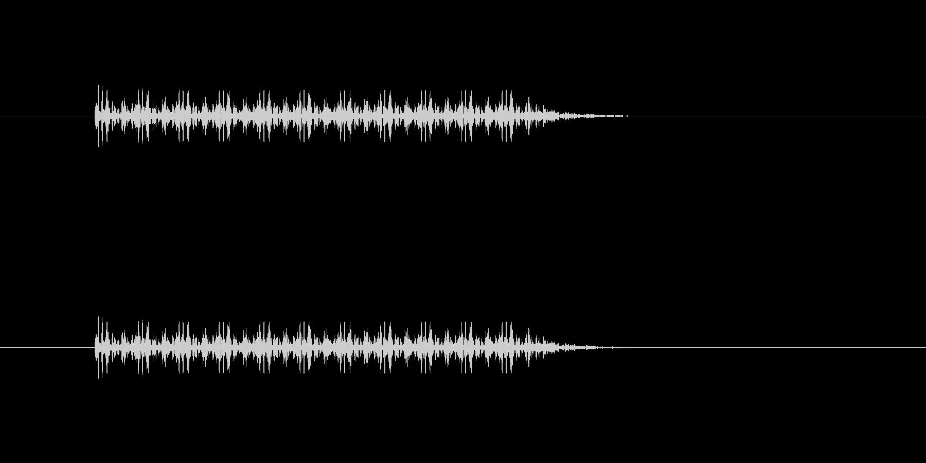 マシンガンなど連射系の銃声の未再生の波形