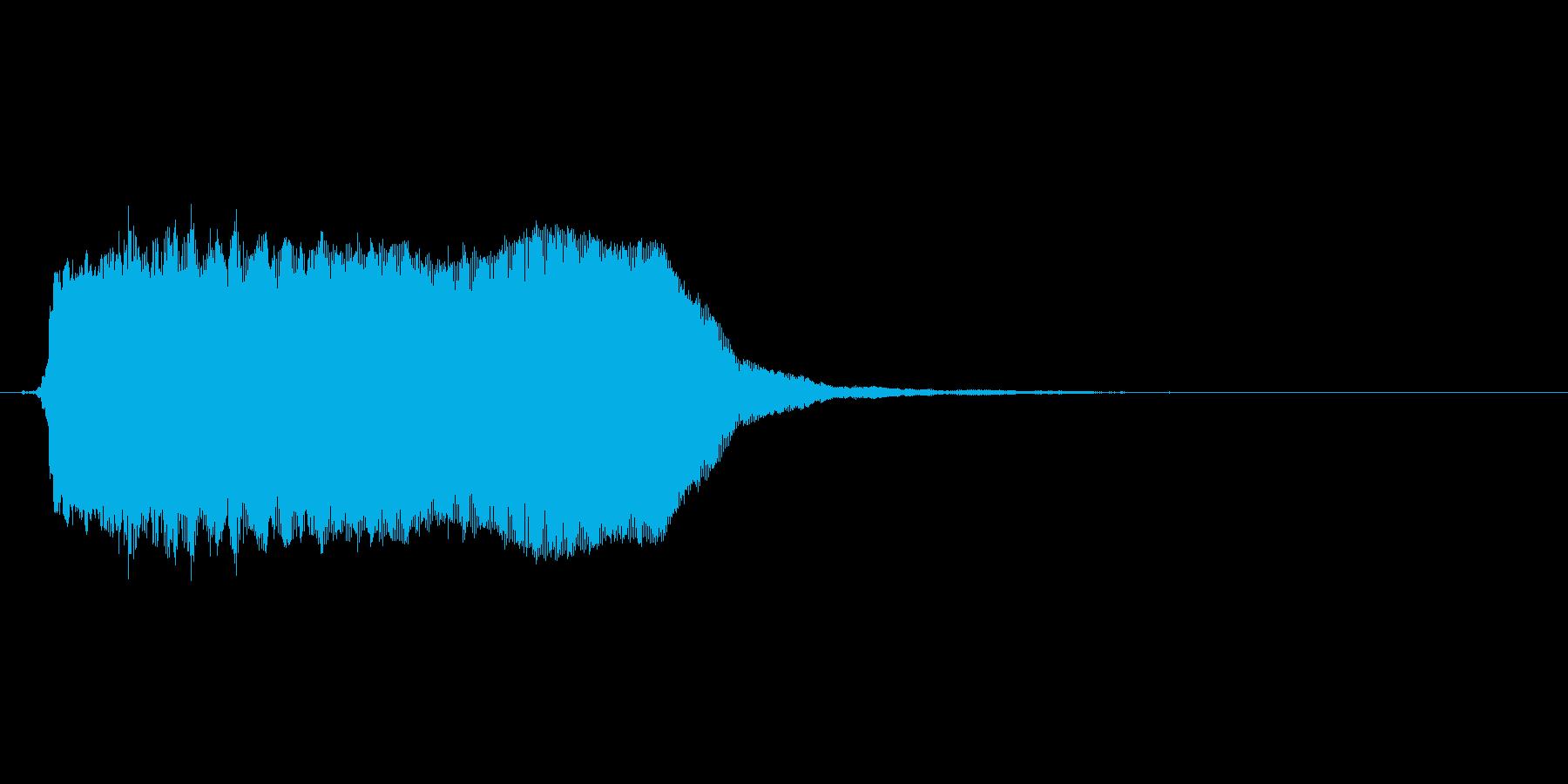 ビーッ(アラート、警報、警告)の再生済みの波形