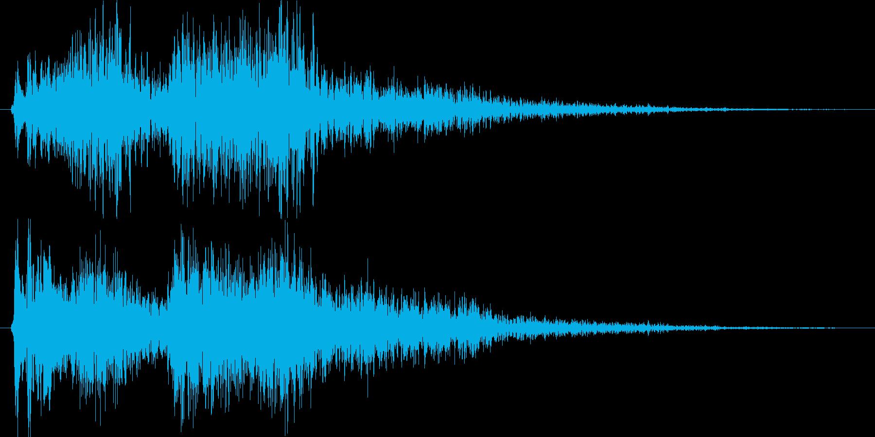グオーグオー。の再生済みの波形