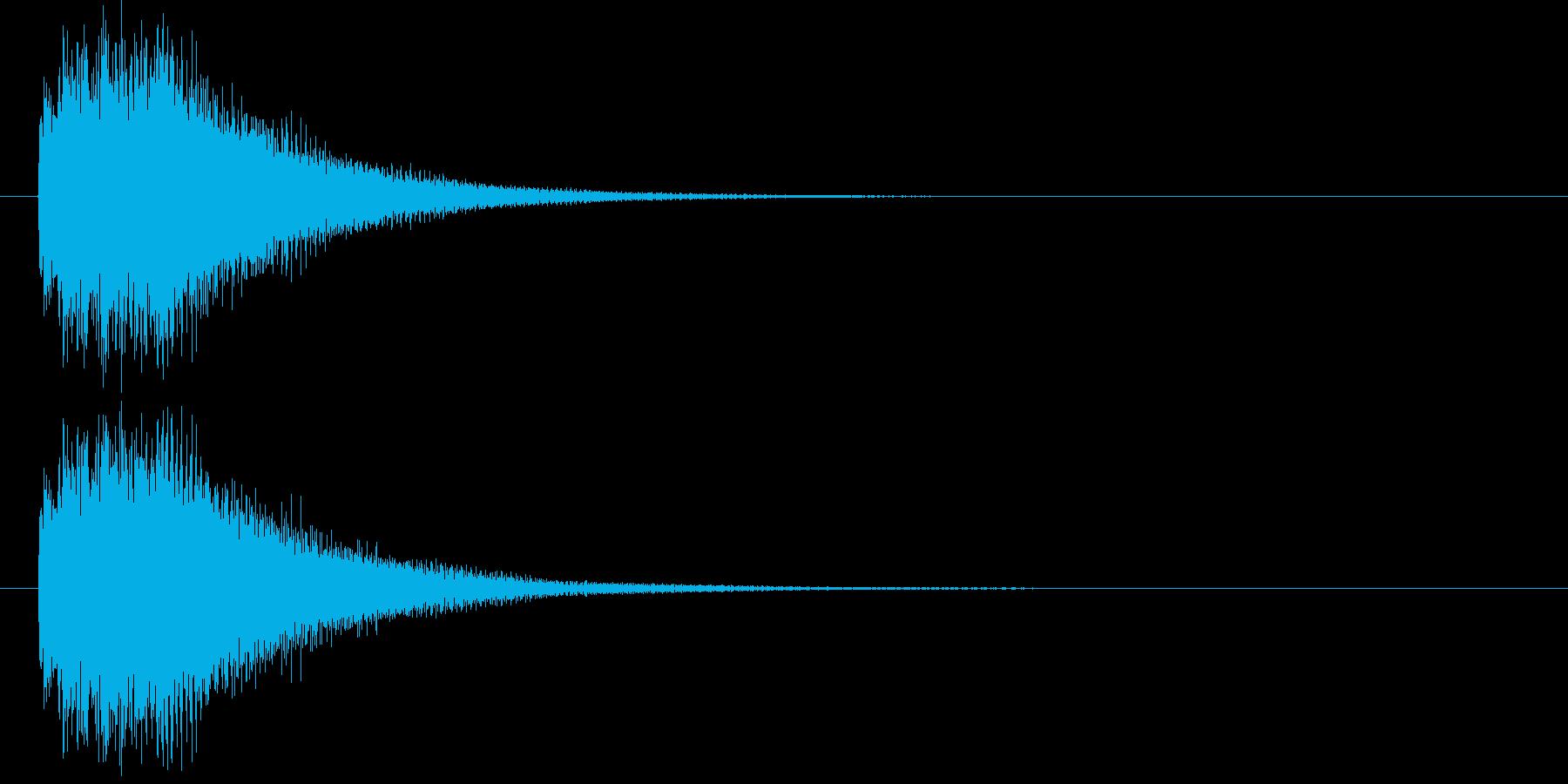 ハープシコード音、正解時などのSEの再生済みの波形