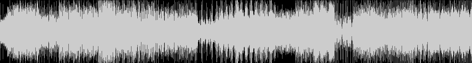 シンプルなアンビエント・テクノの未再生の波形