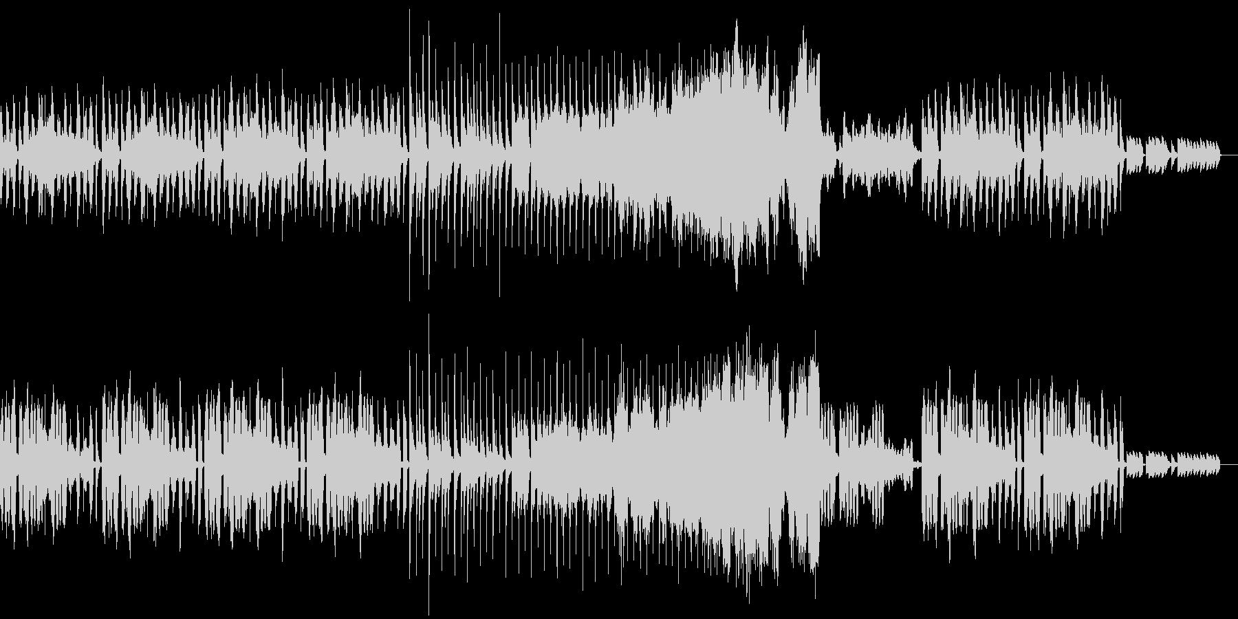 ハロウィン用BGM②少しコミカルな曲の未再生の波形