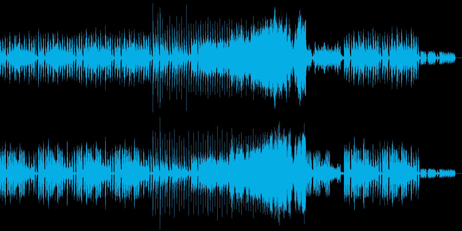 ハロウィン用BGM②少しコミカルな曲の再生済みの波形