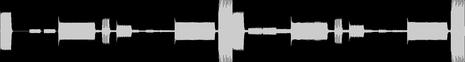 k008 アラーム音(ループ仕様)の未再生の波形