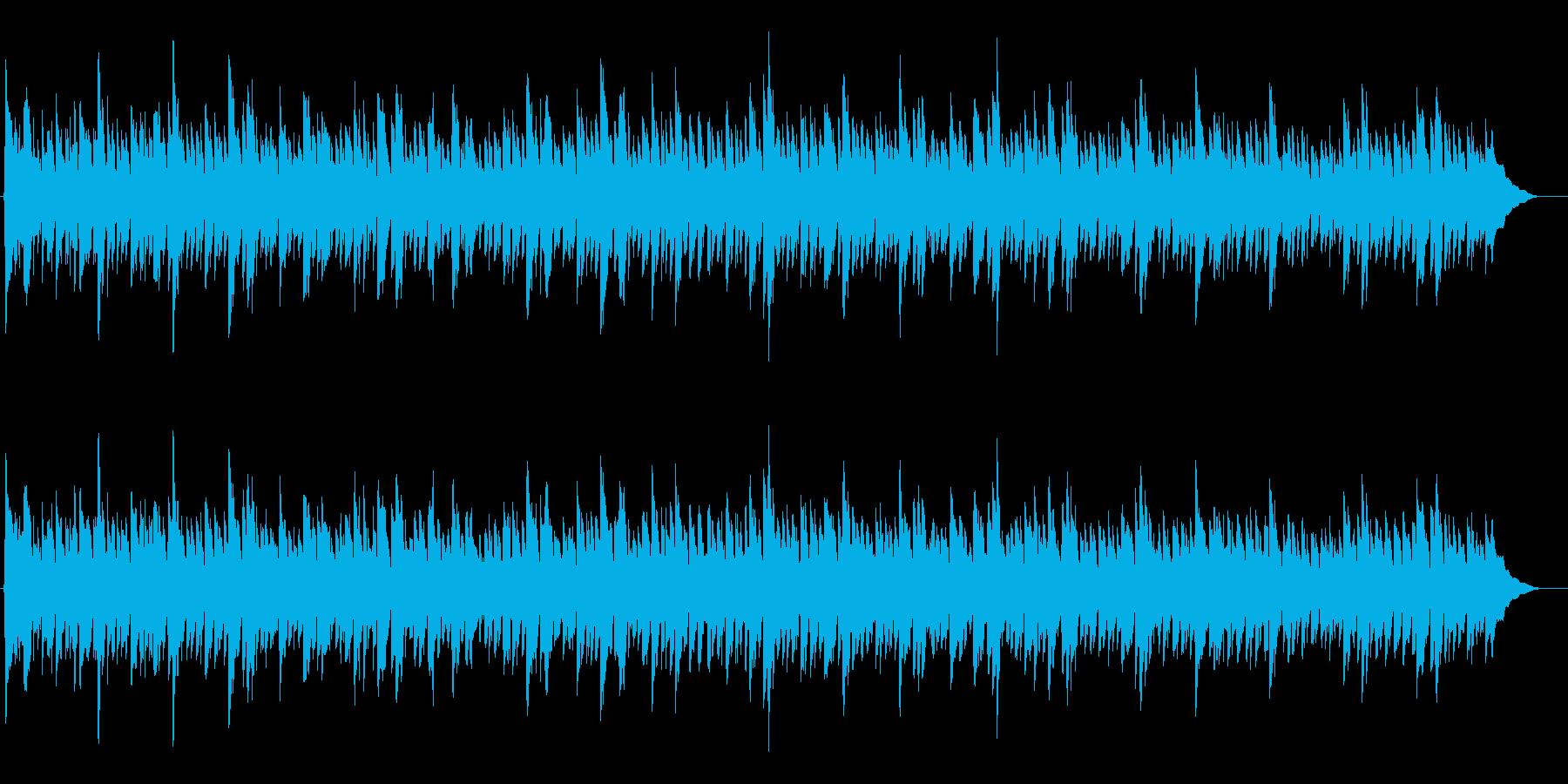 シンプル透明感アコギ アルペシオ 誠実なの再生済みの波形