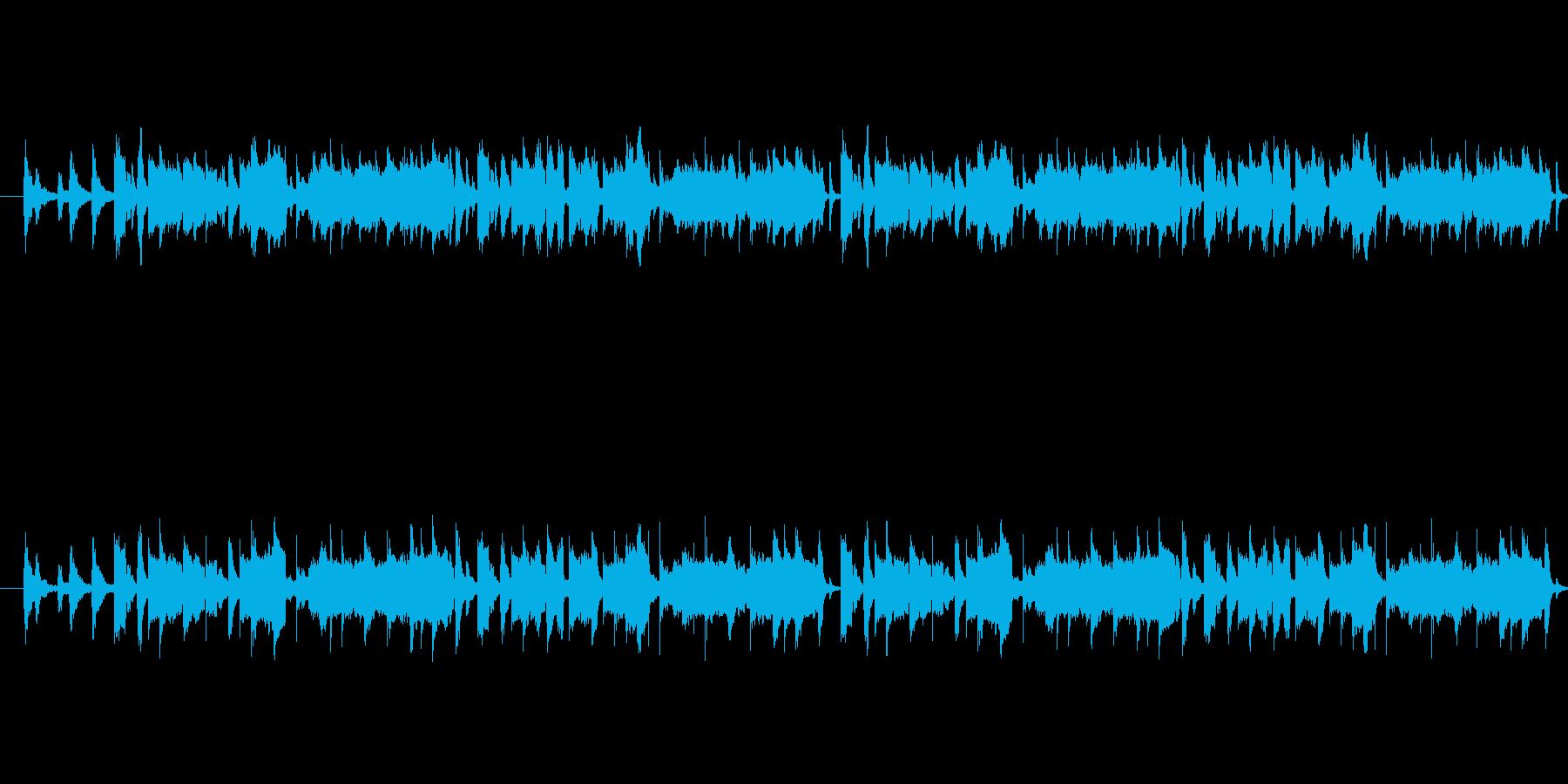 ほんわか、ほのぼのとした音楽です。子供…の再生済みの波形