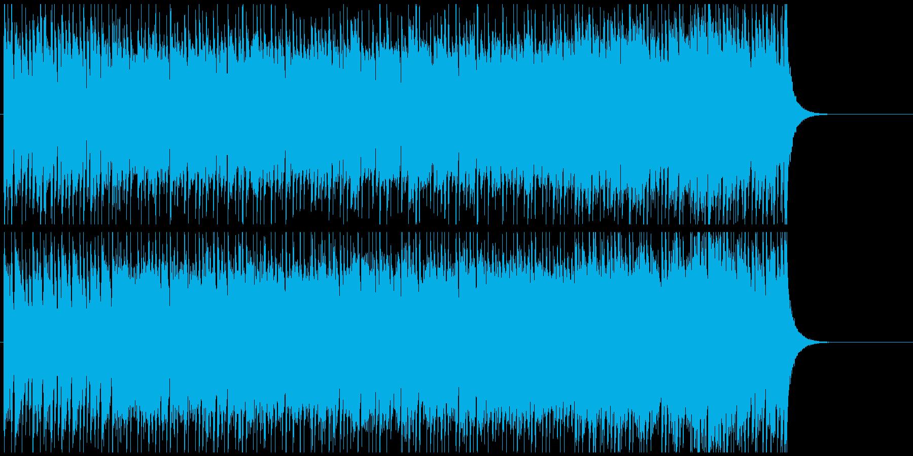 青春を思わせるエレキギターポップの再生済みの波形