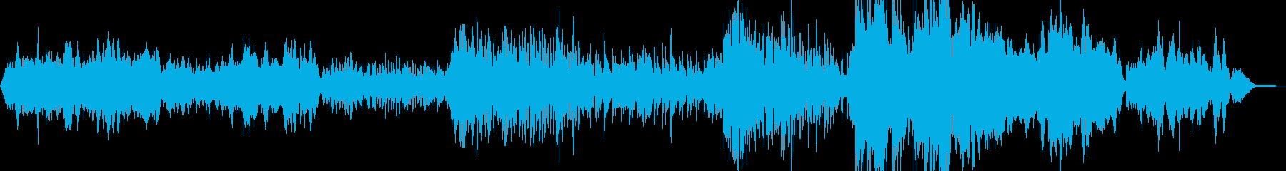 古風なディヴィジョンの再生済みの波形
