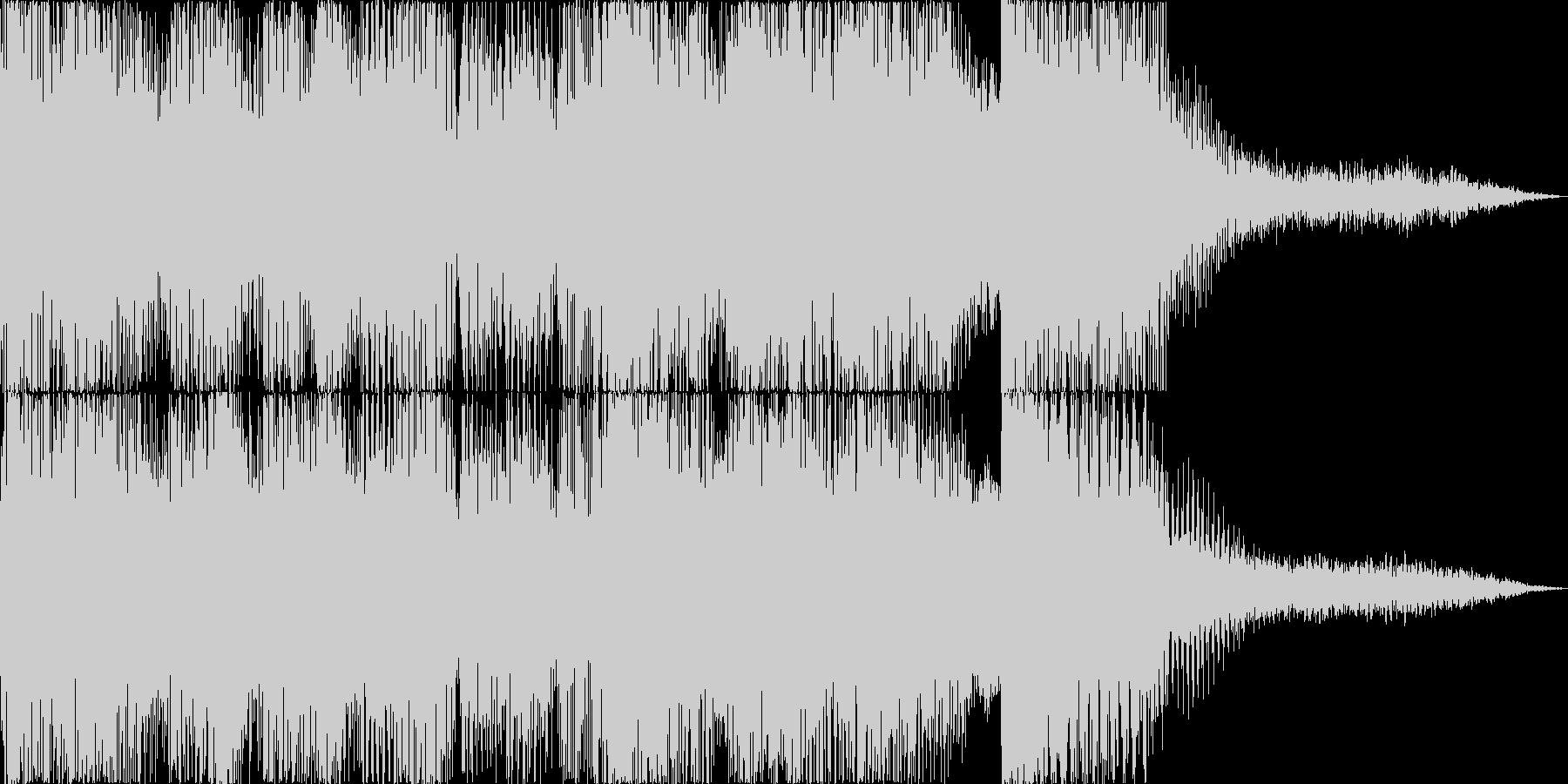 ジャジーなアタックの未再生の波形