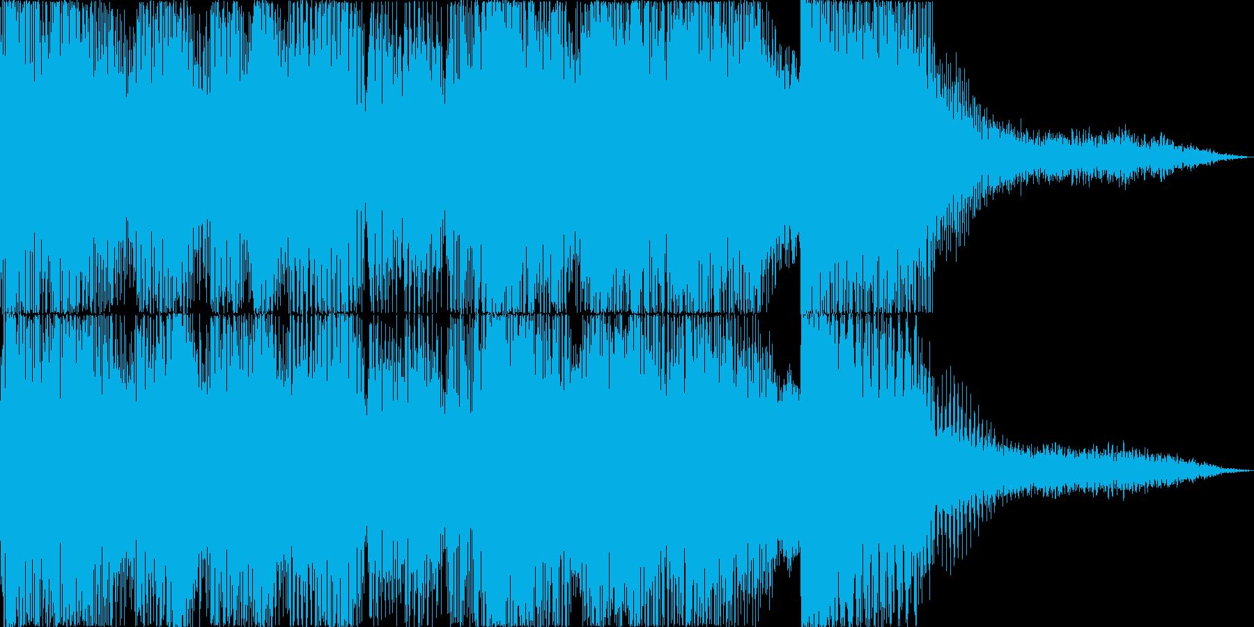 ジャジーなアタックの再生済みの波形