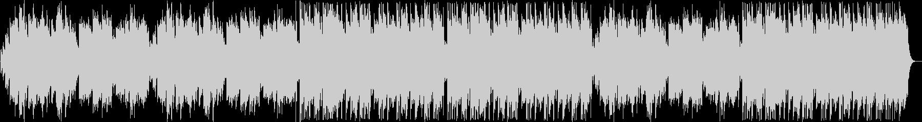 切ないシンセ・オルゴール系サウンドの未再生の波形