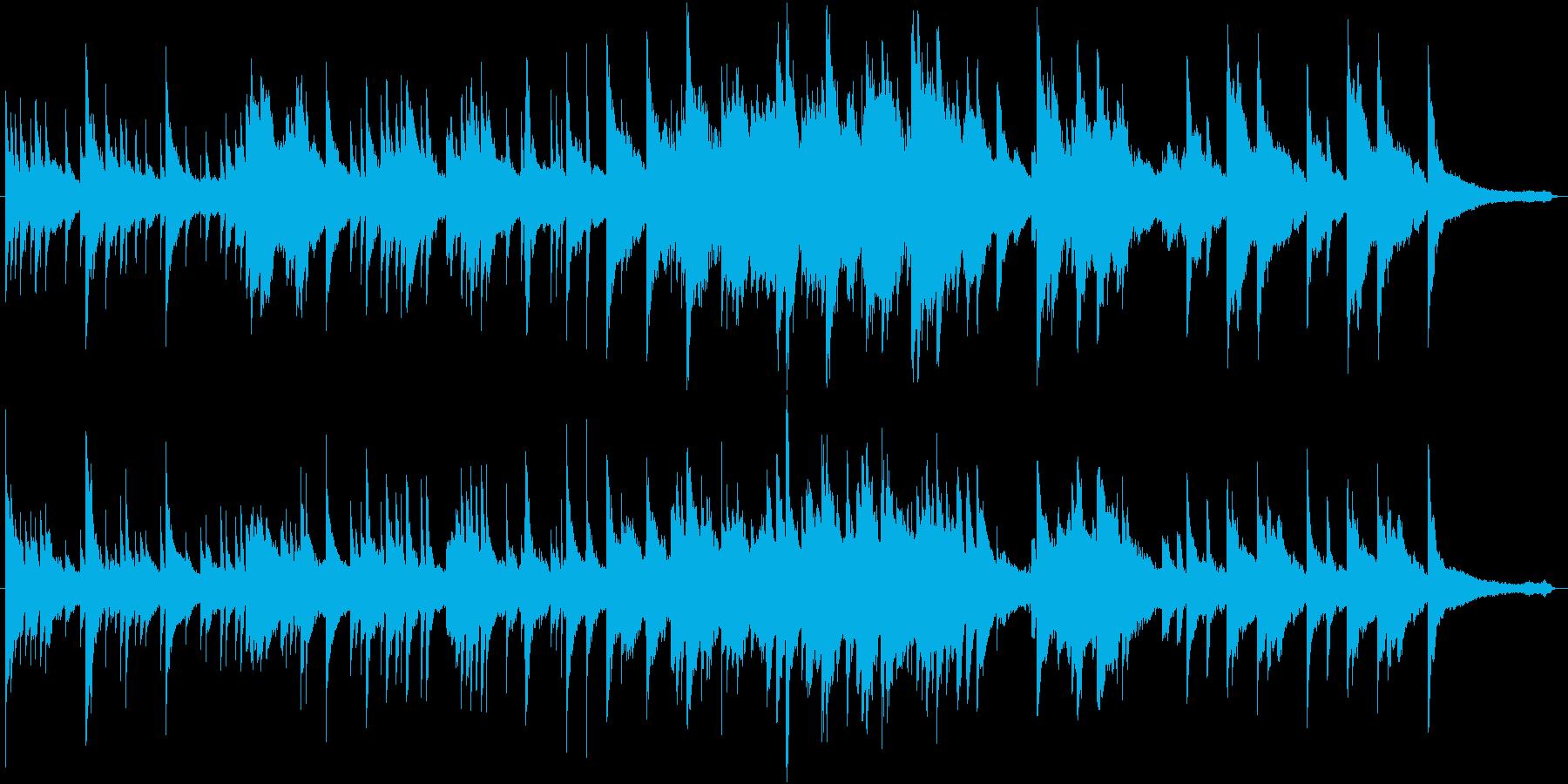 夢みるような気持ちのピアノ曲。の再生済みの波形