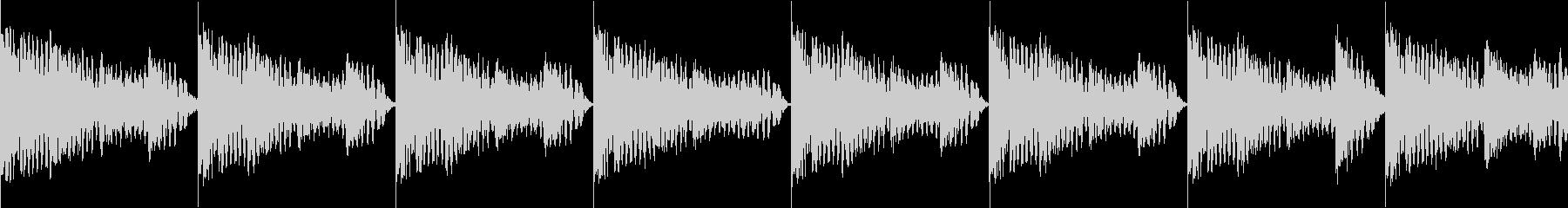 BPM128EDMリズムループ キーFの未再生の波形