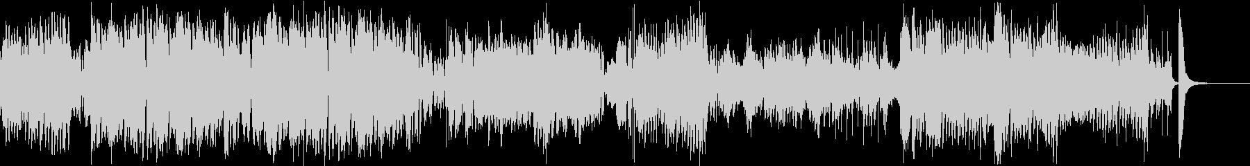 140秒のクリスマス用ビッグバンドジャズの未再生の波形