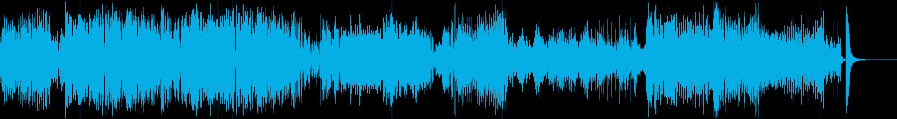 140秒のクリスマス用ビッグバンドジャズの再生済みの波形