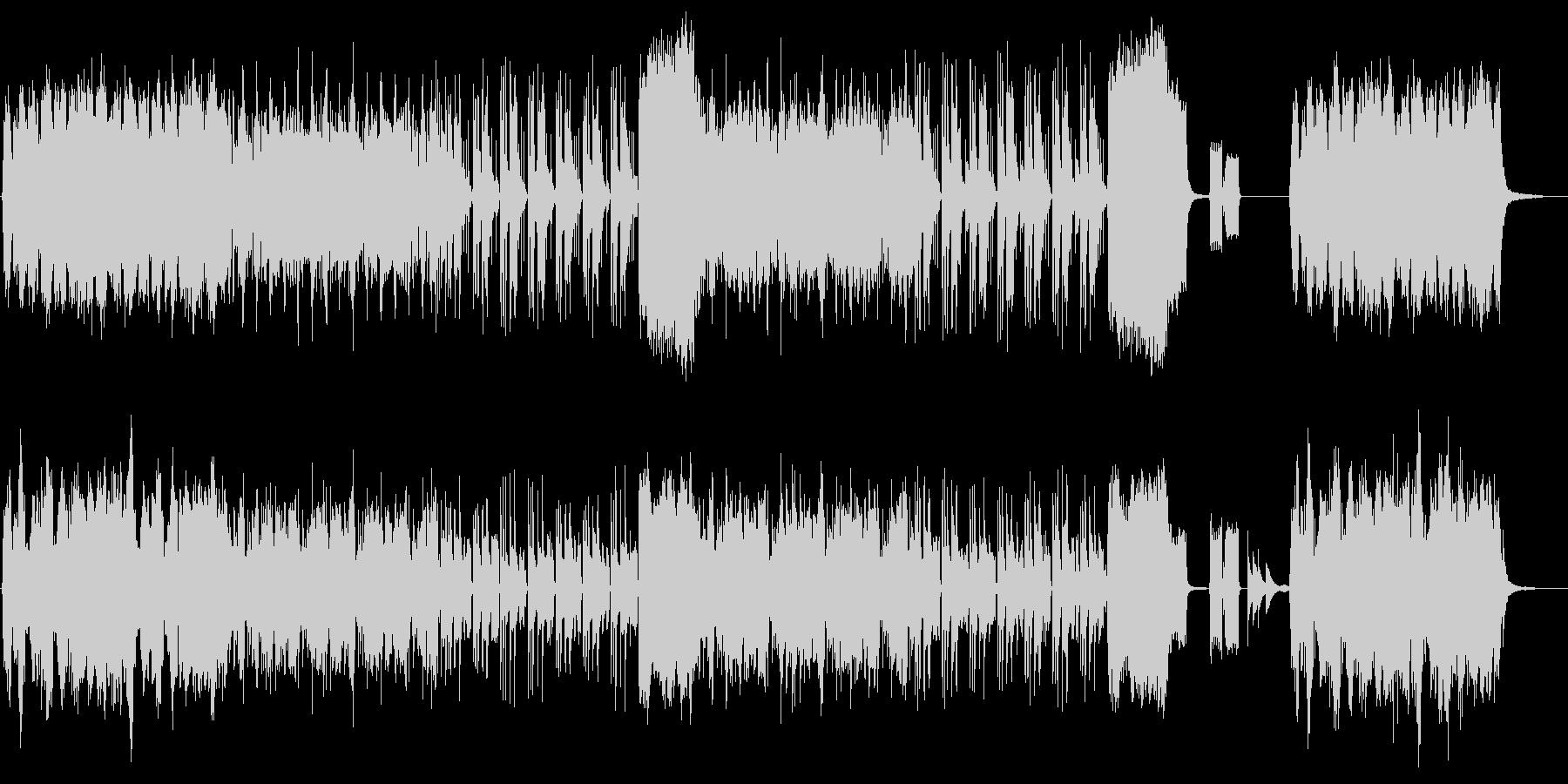 【動物・子供向け】アコーディオンのBGMの未再生の波形