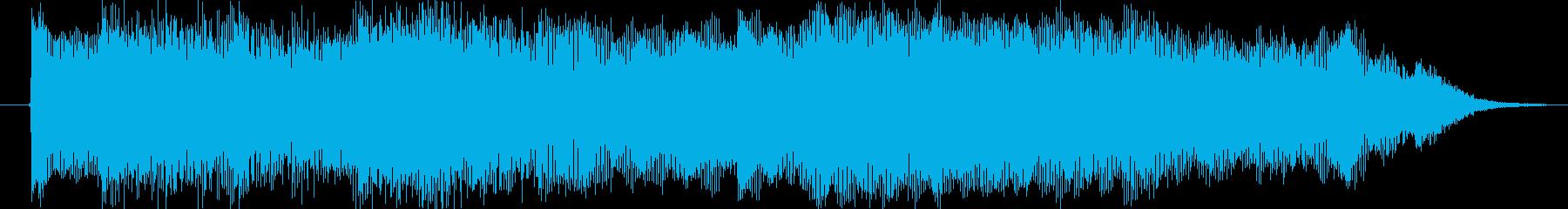 場面チェンジやCM等にの再生済みの波形