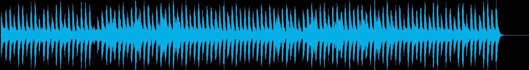 クリスマスの定番ソングの再生済みの波形
