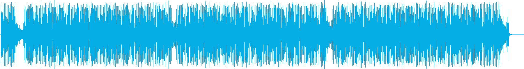 ほのぼの 昼さがり 青空 散歩の再生済みの波形