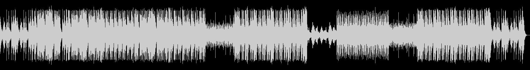 ハープの音が心地よいBGMの未再生の波形