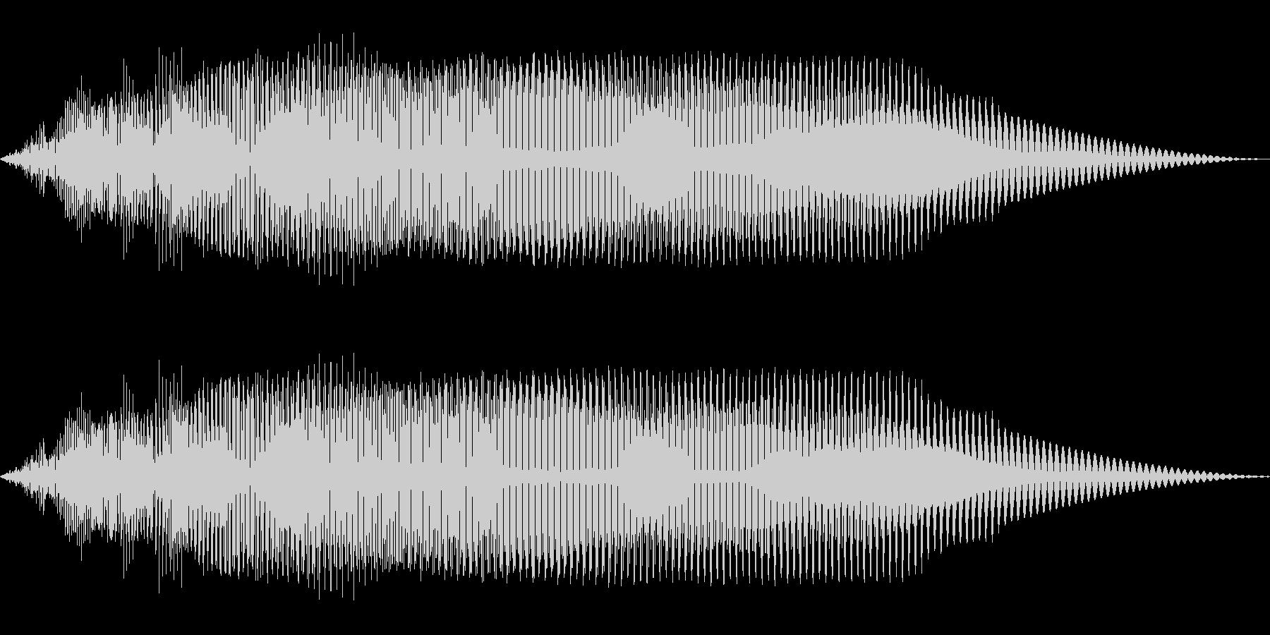 ドゥーン(ワープ/転送装置/SF)の未再生の波形