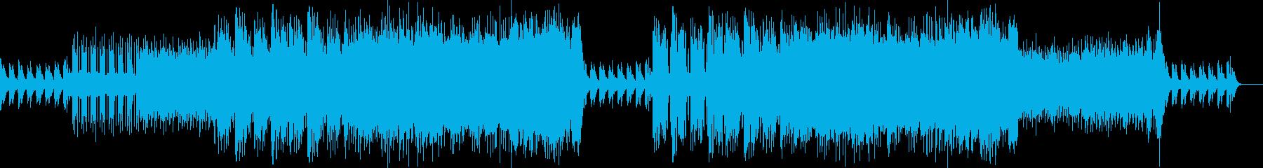 サックスメインのほのぼのしたポップスの再生済みの波形