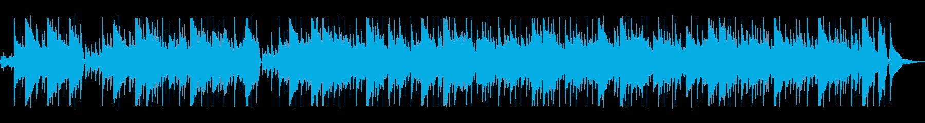 南国を思わせるミュージックの再生済みの波形