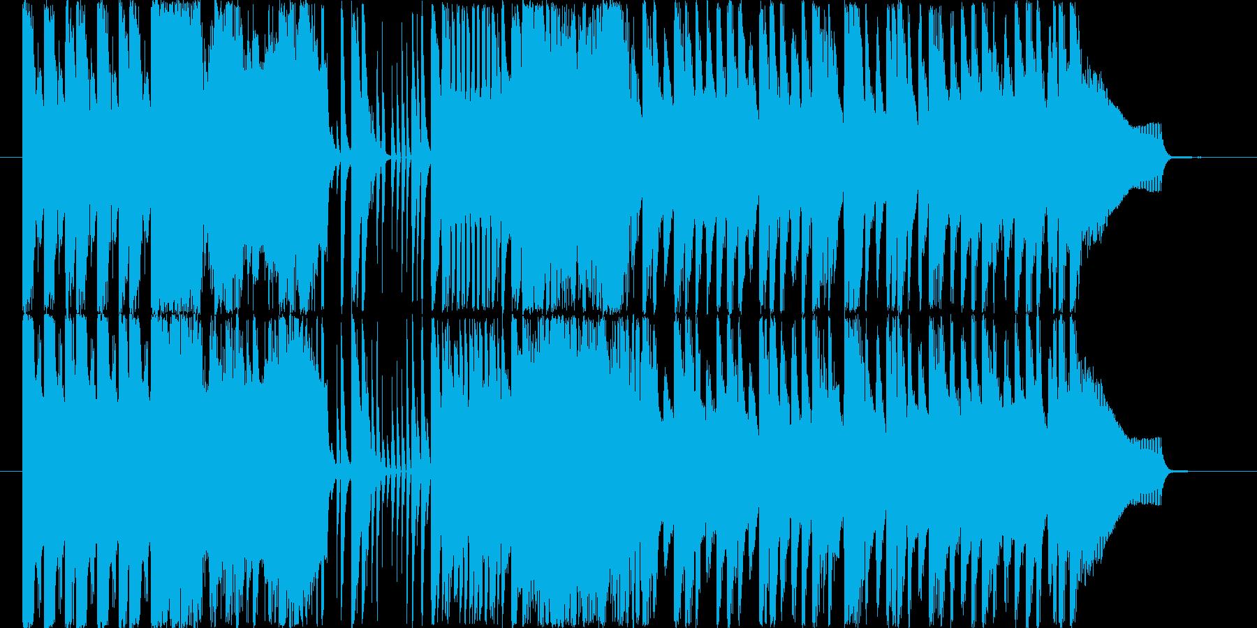 いろんなサウンドがいろいろ出てくる30…の再生済みの波形