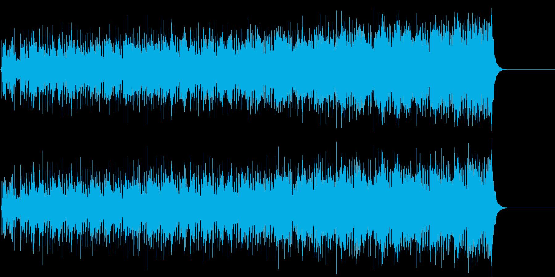 ニュース・オープニング風ポップ/テーマの再生済みの波形