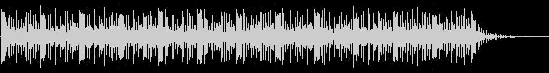 ショートBGM:ファンク-Cの未再生の波形
