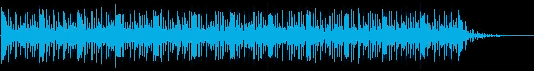 ショートBGM:ファンク-Cの再生済みの波形