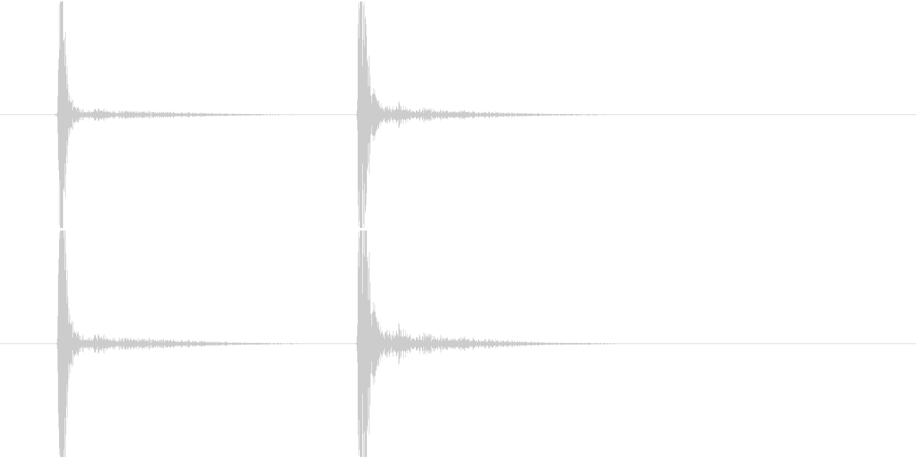 Mouse シングルクリック マウスの未再生の波形