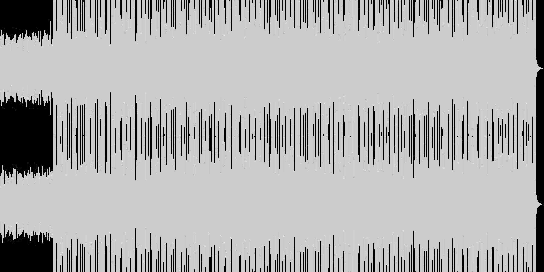 HIP HOP BEAT 03の未再生の波形